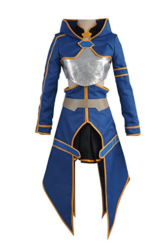 Kostüm Blau Asuna - Cosplayfly Sword Art Online Blau Kleid II Phantom Bullet Silica Keiko Ayano Ausgebildet Wurden Cosplay Kostüm Weiblich