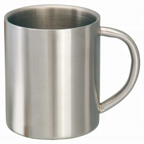 Mug tasse mug inox isotherme en acier inoxydable