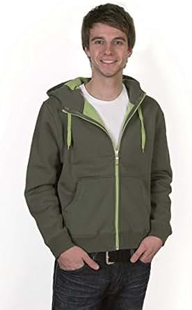 Mens Doubleface Jacket Größe 3XL Farbe sports grey/navy