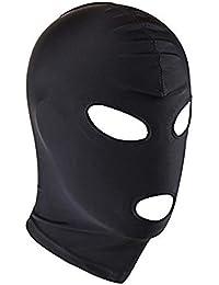 Kopfmaske Bondage Fetisch SM Sex Spielzeug Maske Spandex Stoff Maske Kopfmaske aus Stretchstoff mit