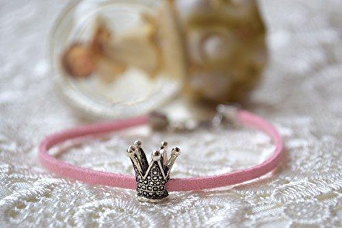 Krone Armband Pandora Charm Prinzessin Leder Mädchen Zubehör (Kostüm Pandora Armbänder)
