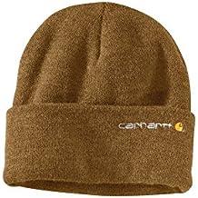 Carhartt Wetzel Watch Cap - Carhartt Brown 100773211 Thick acrilico Rib maglia cappello (Rib Cap)