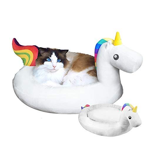 MikaMax   Unicorn Pet Bed   Cama mascotas unicornio