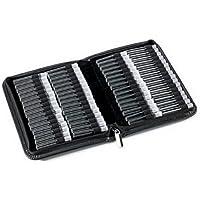 Homöopathie Taschenapotheke Klassik mit 64 Klargläsern Leder schwarz für Globuli preisvergleich bei billige-tabletten.eu