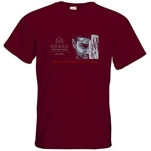 getshirts - TasteofGames - T-Shirt - The Man who trolled the world Burgundy