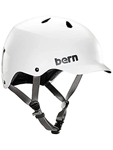 Casque de skateboard Femme Bern Team Watts EPS Casque XXL satin white