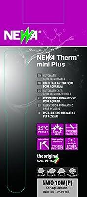 Unbekannt Newa Mini Kombi-Thermometer für Aquarien, 10W