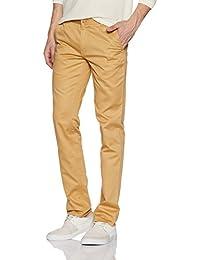 Diverse Men's Slim Fit Cotton Casual Trousers