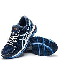 Hombres de estabilización Kayano 20Trail carretera Running Sport Competencia de Carreras de zapatos calzado zapatillas en azul, hombre, azul, EUR44
