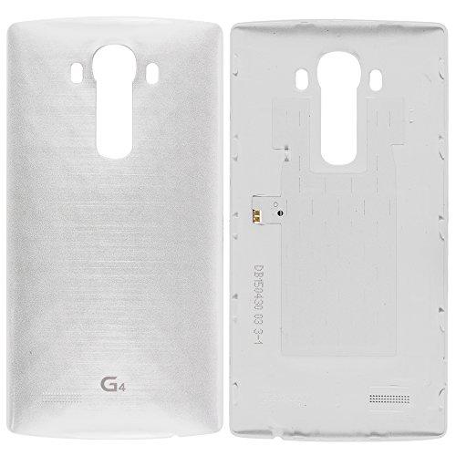 Original LG Akkudeckel weiß für LG G4 H810 mit NFC-Antenne (Akkufachdeckel, Batterieabdeckung, Rückseite, Back-Cover) - ACQ87865353
