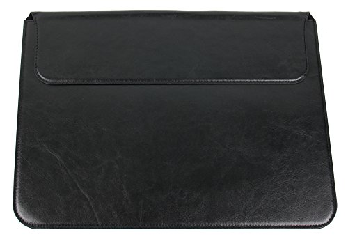 DURAGADGET Etui Tasche Case aus Premium Lederimitat für BLAUPUNKT Endeavour 1100 Tablets (Schwarz)