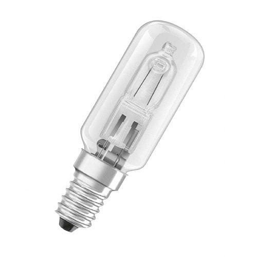 Klare Quarz-halogen-glühlampe (Osram Quarz-Halogen-Lampe T E14 klar HALOLUX T 25W EEK: D)