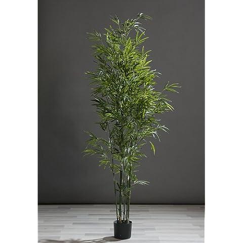 Bambù in vaso albero in bambù albero artificiale 180 cm