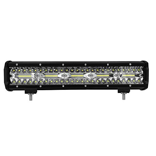LWTOP LED-lichtleiste, 300 Watt Führte Arbeitslicht 15 Zoll Offroad Fahrscheinwerfer Scheinwerferlicht LED Flush Lights,1Pack -