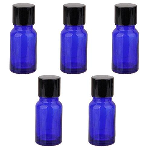 5pcs-blauen-glas-atherisches-ol-flasche-flaschchen-offnung-minderer-schwarz-schraubkappe