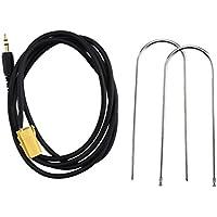 Câble De Fil Aux Clés De Radio Carte Audio 1.5m 3.5mm Pour Fiat Grande Punto Mp3