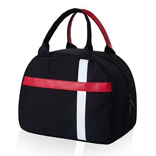 Esafio - borsa termica per il pranzo, portatile, riutilizzabile, per donne, uomini, adulti, studenti e bambini