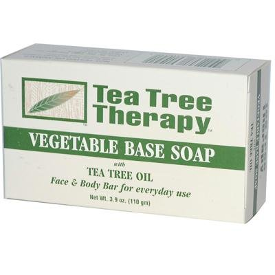 TEA TREE THERAPY TEA TREE SOAP,VEGETABLE, 3.9 OZ by Tea Tree Therapy