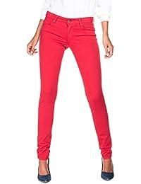 SALSA Pantalones Colette súper pitillo de color