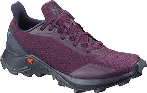 Salomon ALPHACROSS W, Zapatillas de Trail Running para Mujer, Morado Potent Purple/Navy Blazer/India...