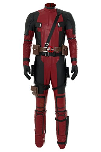 Huiyemy Deadpool 2 Cosplay Deadpool Wade Wilson Jumpsuit Cosplay Kostüm - Deadpool Kostüm Jumpsuit