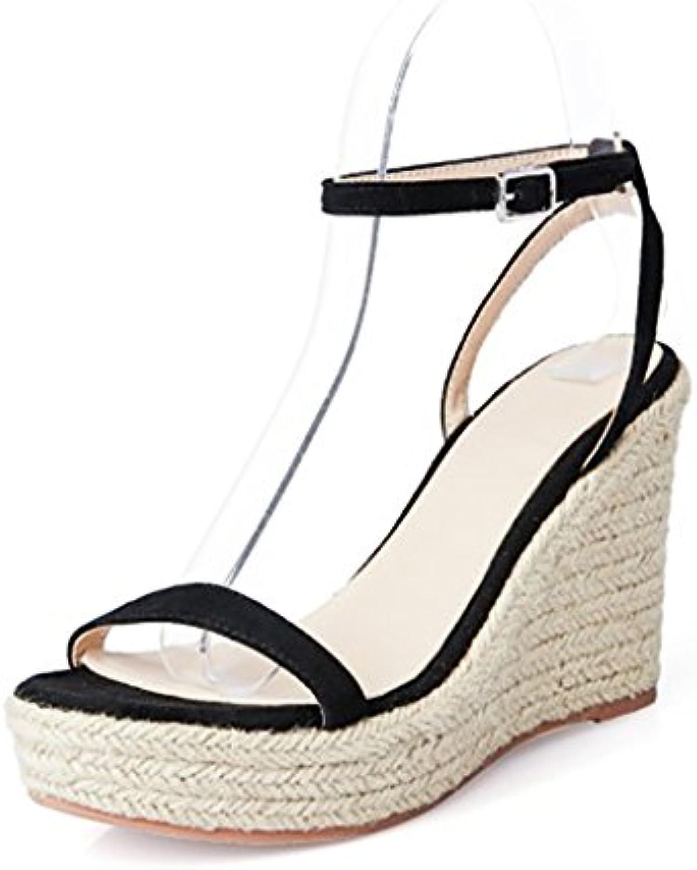 YMFIE primavera y verano damas' high heels dedos sandalias ahuecado y temperamento parte de moda tacones para banquetes,37 UE,b 37 EU|b
