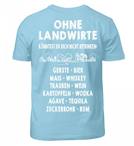 Shirtee Hochwertiges Kinder Tshirt Landwirtschaft Shirt