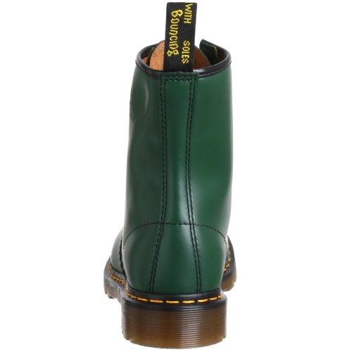 Dr. Martens Original 1460 Stivaletti Unisex Green Smooth Leather