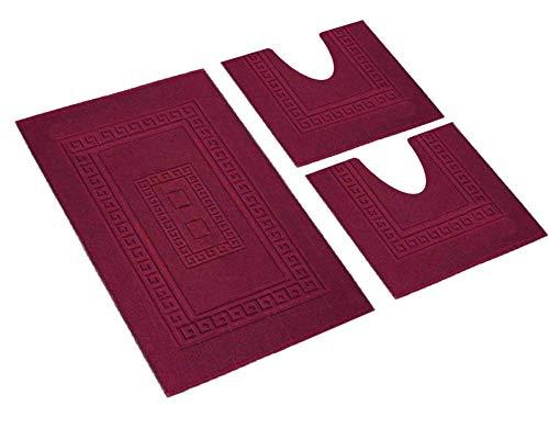 Tappeti bagno set 3 grandi sconti tappeti orientali e moderni