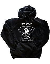 Einhorn- Ich Irre-Vielleicht sollte ich mal von meinem Einhorn steigen und dir eine knallen Hoody Kapuzensweatshirt