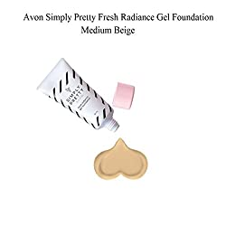 Avon Simply Pretty Fresh Radiance Gel Foundation (30ml, Medium Beige)