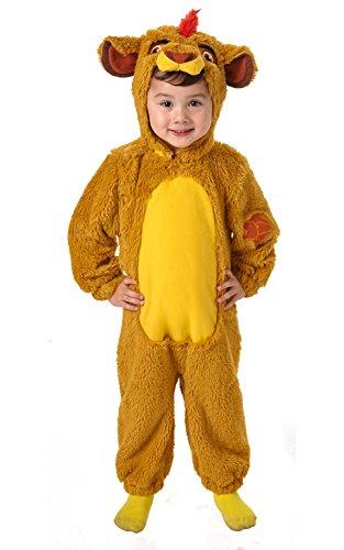 Disney - Disfraz del Rey León Deluxe para bebé, infantil 6-12 meses (Rubies 620649-I)