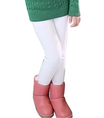 Guiran Niña En Mallas Leggings Puntos Elástico Pantalones
