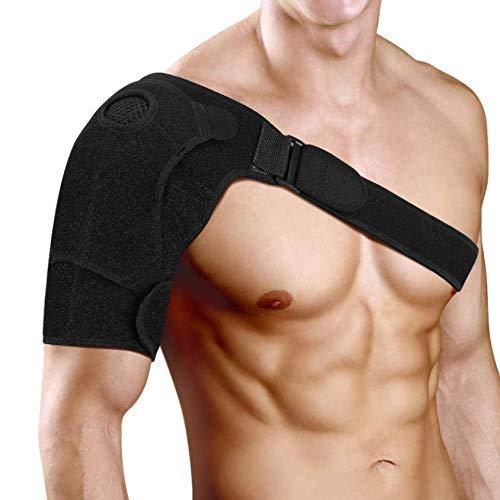"""Neopren Verstellbare Schulterbandage, Reduziere Schulterschmerzen. Schulterwärmer Passend für Linke und Rechte Schulter, für Männer & Frauen (L: 34\"""" - 52\"""")"""