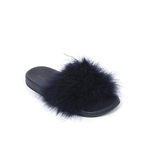 Para Ideales Aprovechar Marinas Los Fany Zapatos Plumas q10BEvww45