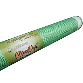 Aquagart Greenhouse Film/Cold Frame Film 250 g UV Stable Green Various Widths and Lengths, Green