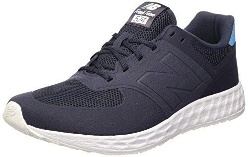 New Balance Nbmfl574rb, Chaussures de Sport Homme Blu (Navy D)