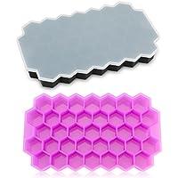 Backbleche & -formen Temperamentvoll Silikon Eiswürfelform Grün Bienenwaben Mit Deckel Möbel & Wohnen