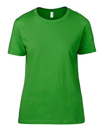 Anvil -  T-shirt - Donna Mela verde