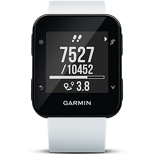 Garmin Forerunner 35 GPS Running Watch with Wrist-based Heart Rate – White