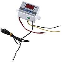 XH-W3001 Controlador de Temperatura Digital LED DC12V Termostato con Sensor Termostato Calentando y Enfriando
