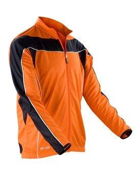 RT255 Mens Bikewear Long Sleeve Jacke atmungsaktiv Fahrradjacke, Farbe:neon orange/black;Herrengrößen:M