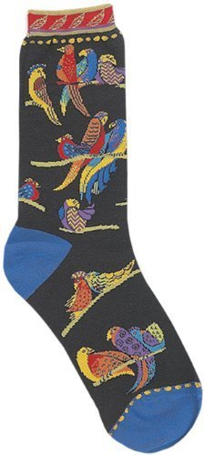 laurel-burch-socks-birds-of-paradise-by-leadoff