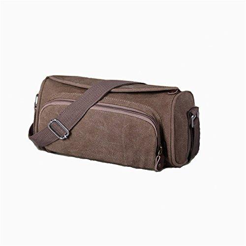 männer freizeit kleine tasche sport fitness reisetasche Brown