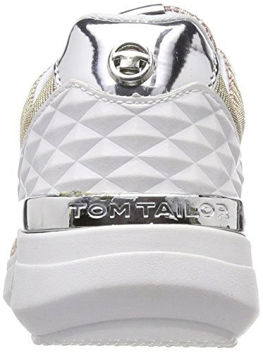 TOM TAILOR Damen 4891702 Sneaker Pink (Old Rose)