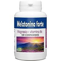 Melatonina Forte 1.8mg - Magnesio y Vitamina B6 - 180 comprimidos