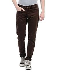 Monte Carlo Mens Straight Fit Jeans (2180870088DN-2-30_Dark Khaki)