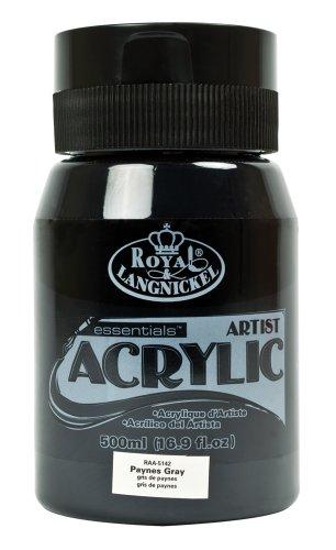 Royal & Langnickel RAA-5142 - Essentials 500 ml Acrylfarbe, paynesgrau