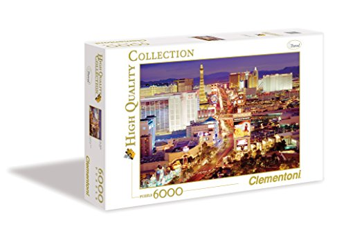 Clementoni 36510.4 -  Las Vegas, 6000 teilig