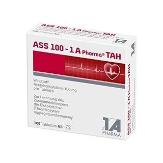 ASS 100 mg - 1 A Pharma TAH, 100 St. Tabletten